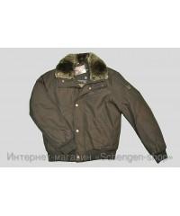 Мужская куртка Ad hoc с меховым воротником