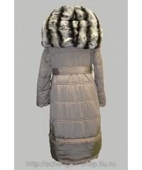 Женское пальто Diego M бежевое 32082