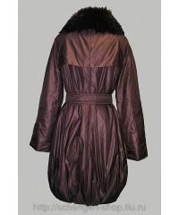 Женское пальто Diego M бордо 31619