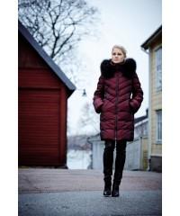 Женский пуховик Joutsen Fusso Fur