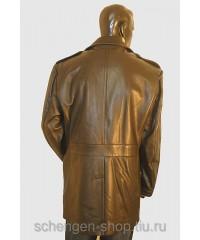 Мужская кожаная куртка Lagerfeld на беличьем меху 31104