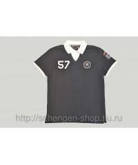 Рубашка Stangata синяя 45192