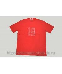 Футболка Lagerfeld красная 31143