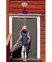 Одеяло -плед дорожное Joutsen 130x190 см, 100гр., среднетеплое, 100% пух