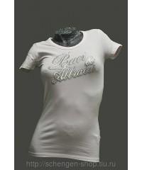 Женская блузка белая Bacci&Abbracci